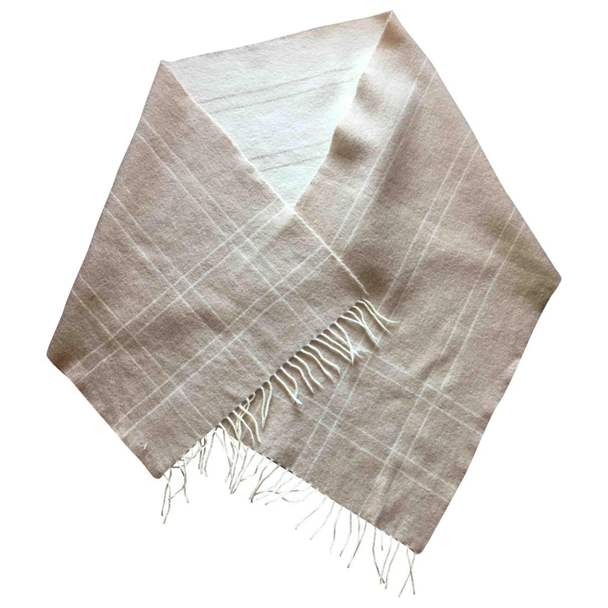 Agnona \N Beige Cashmere scarf for Women \N