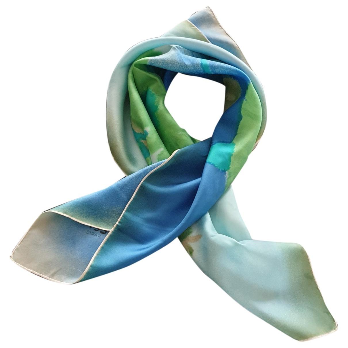 Nina Ricci \N Schal in  Blau Seide