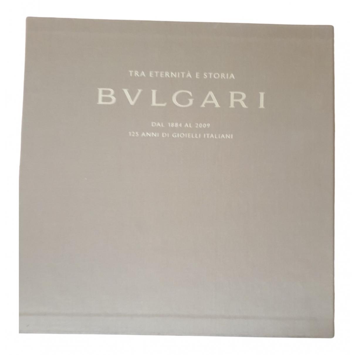 Bvlgari - Mode   pour lifestyle en coton - beige