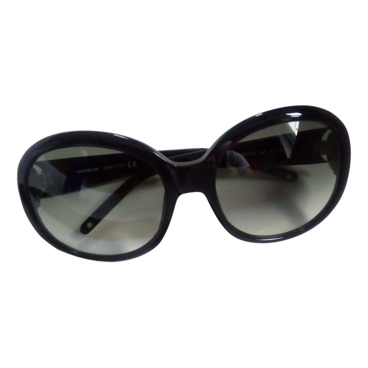 Gafas oversize Montblanc