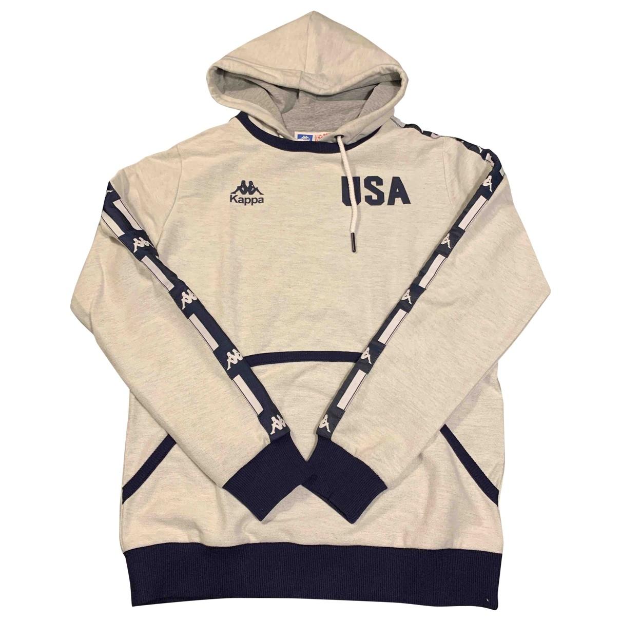 Kappa \N Pullover.Westen.Sweatshirts  in  Grau Baumwolle