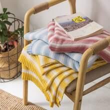 1 Stueck Decke mit Streifen Muster