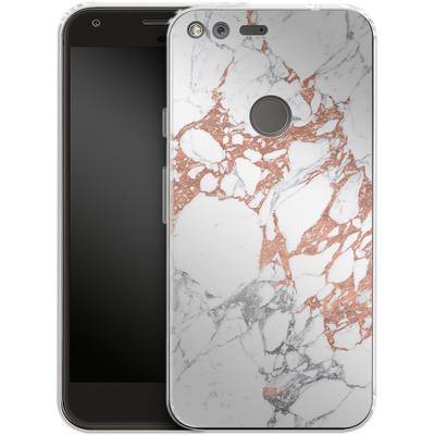 Google Pixel Silikon Handyhuelle - Marble Mix von #basic