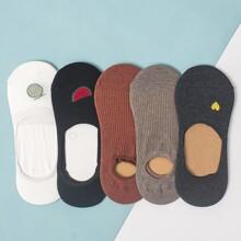 5pairs Fruit Pattern Ankle Socks