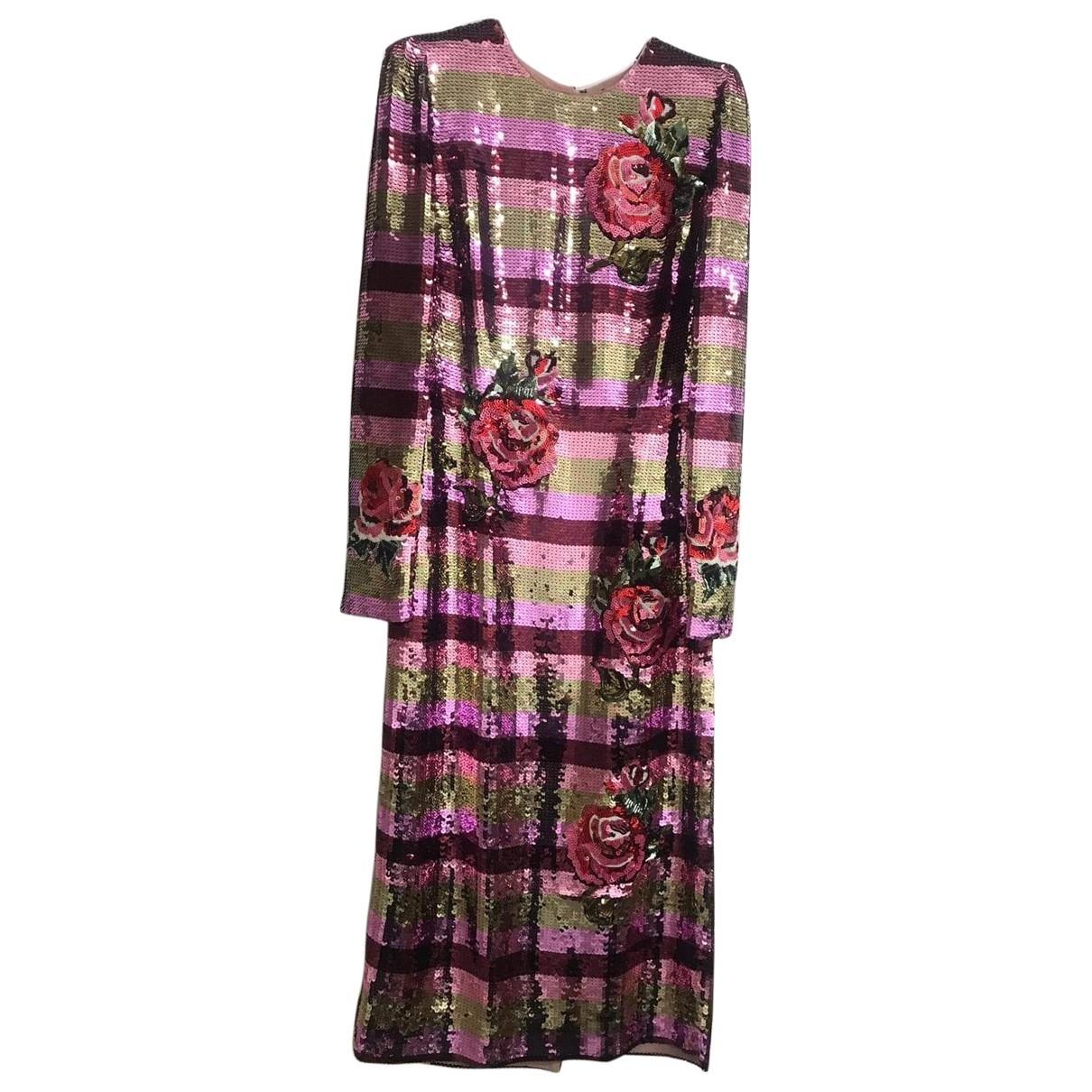 Dolce & Gabbana \N Kleid in  Bunt Mit Pailletten