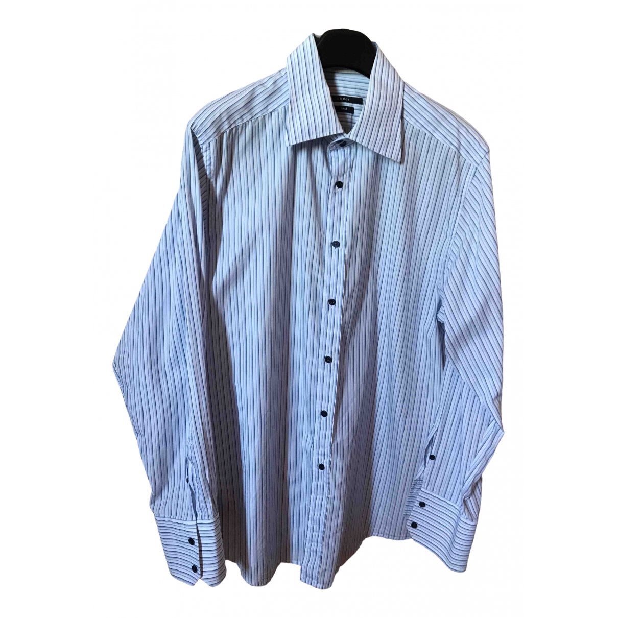Gucci \N Multicolour Cotton Shirts for Men 17.5 UK - US (tour de cou / collar)