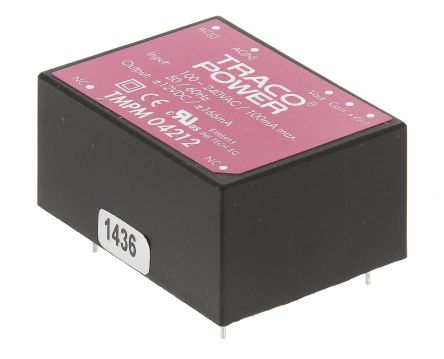 TRACOPOWER , 4W Embedded Switch Mode Power Supply SMPS, ±12V dc, Encapsulated