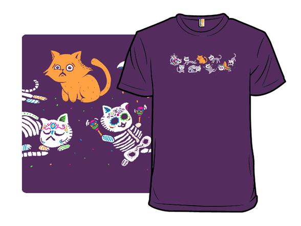 Gatos De Los Muertos T Shirt