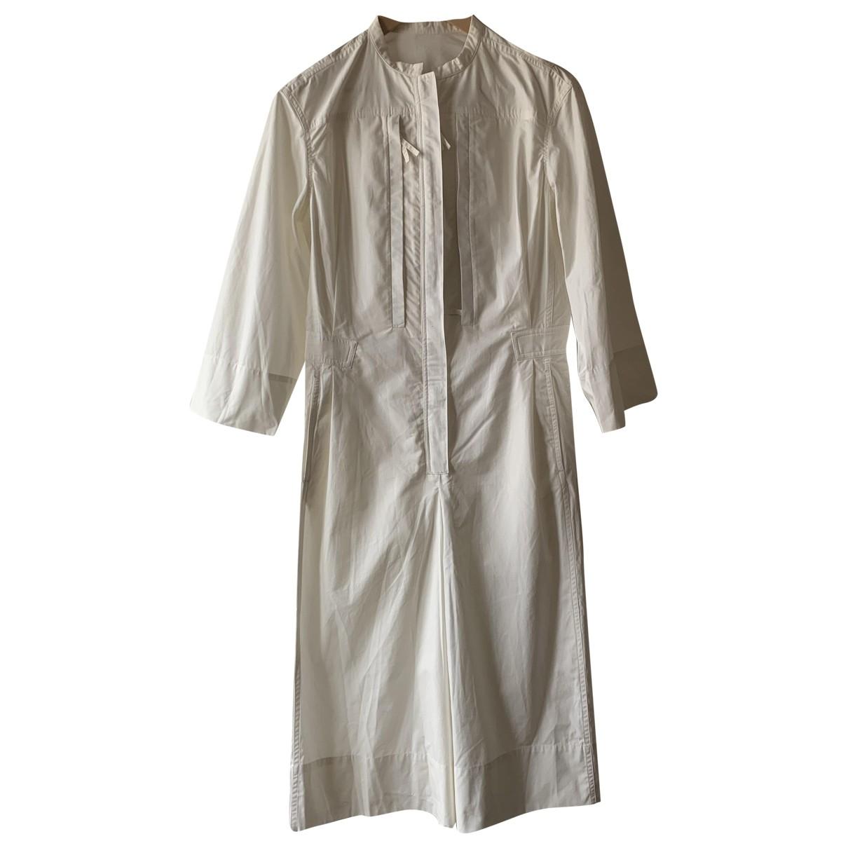 Lemaire - Robe   pour femme en coton - blanc