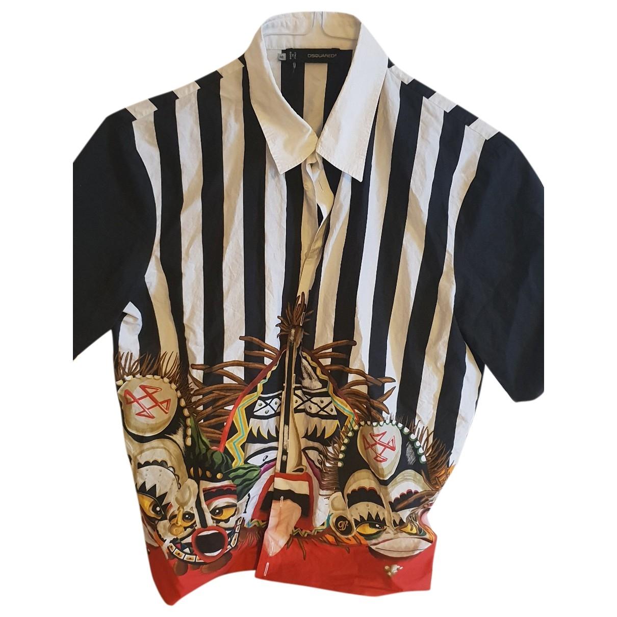 Dsquared2 - Chemises   pour homme en soie - multicolore