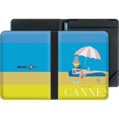 tolino vision eBook Reader Huelle - CANNES TRAVEL POSTER von IRMA