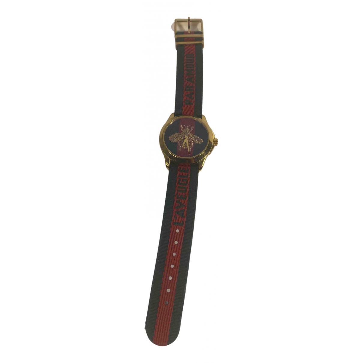 Gucci Le Marche des Merveilles Uhr in  Gold Stahl