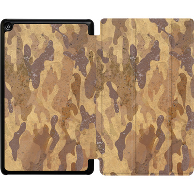 Amazon Fire HD 8 (2017) Tablet Smart Case - Camo Bark von caseable Designs