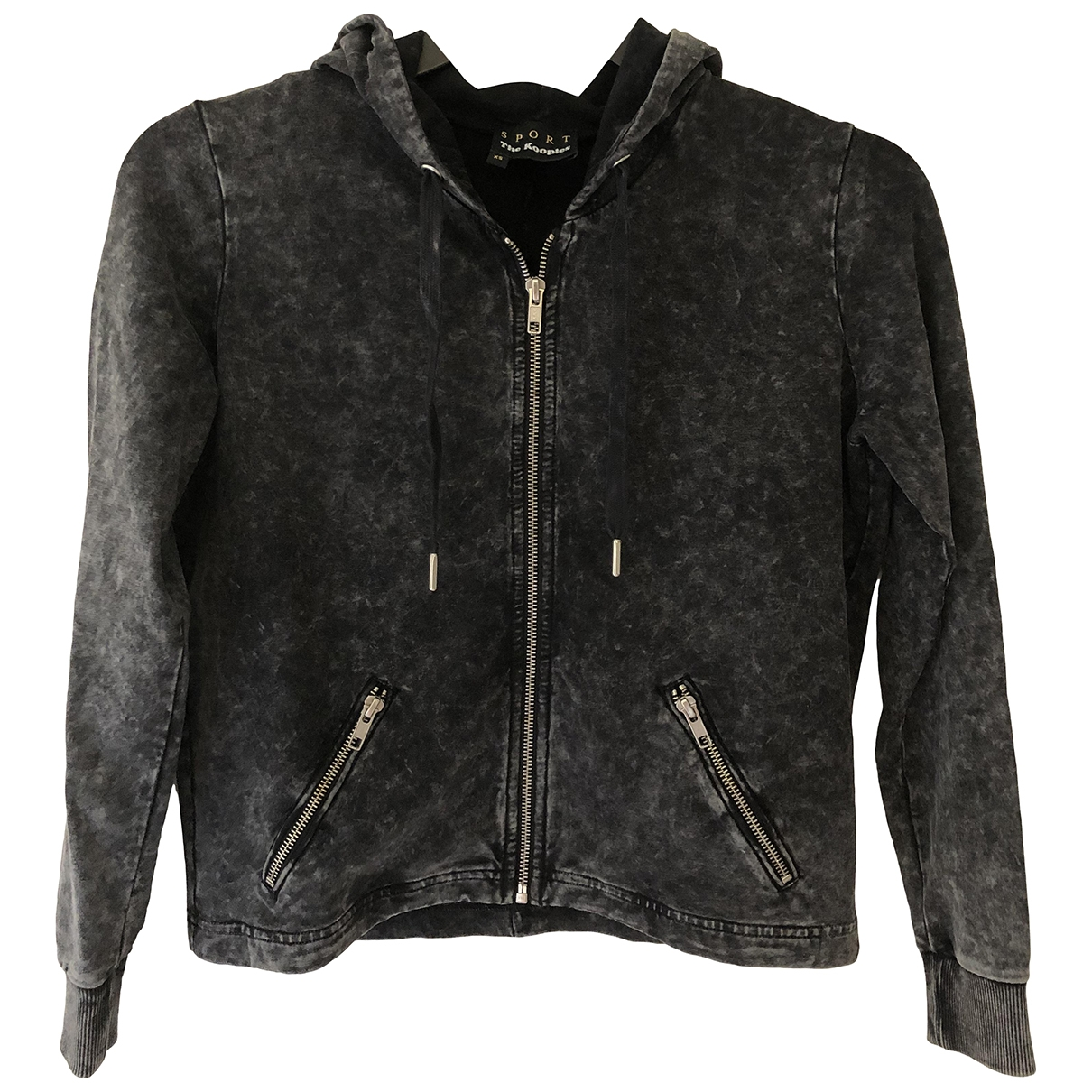 The Kooples \N Anthracite Cotton jacket for Women XS International