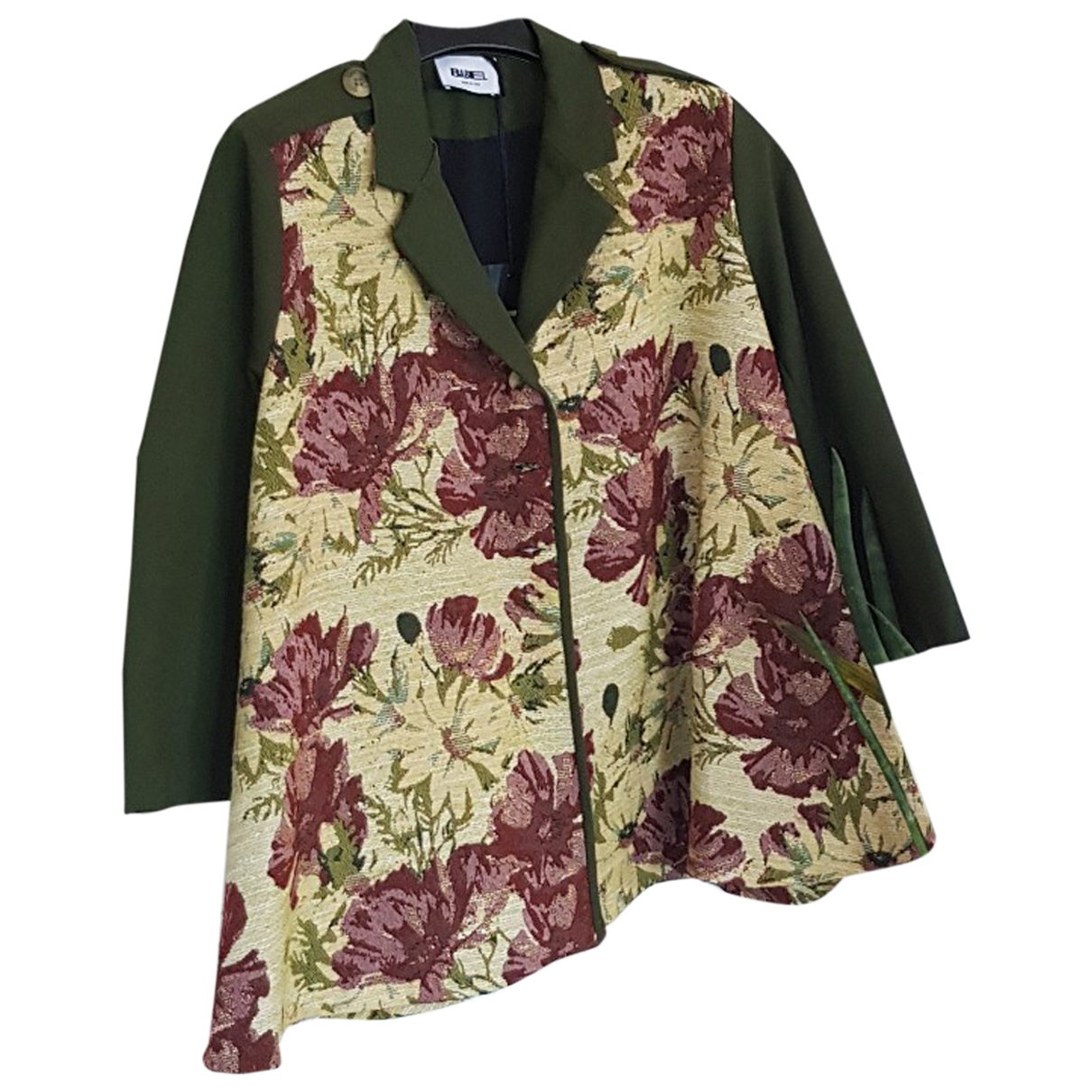 Non Signé / Unsigned N Multicolour Cotton jacket for Women One Size International