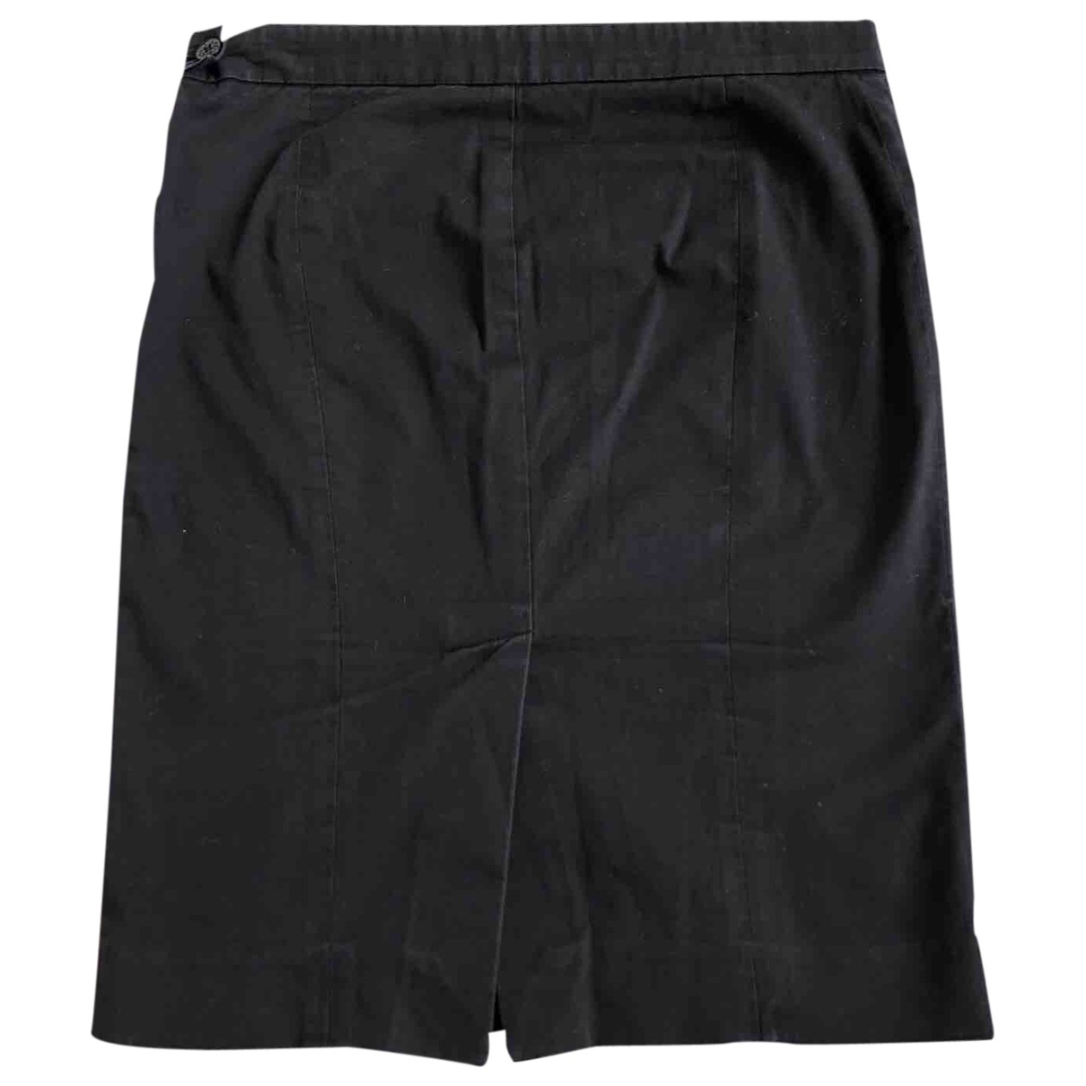 Patrizia Pepe \N Black Cotton - elasthane skirt for Women S International