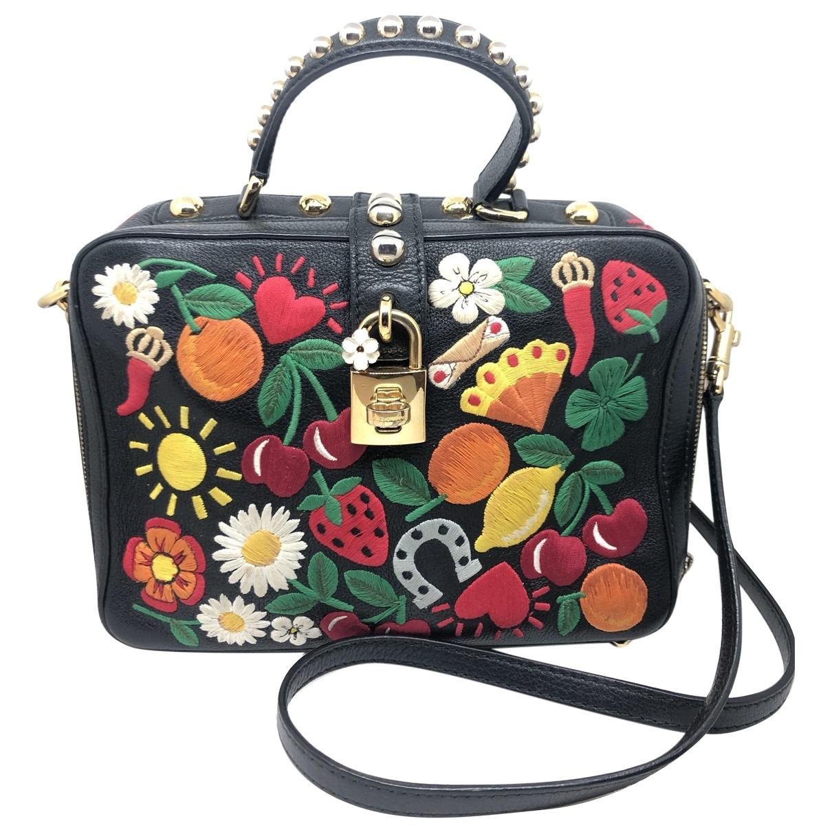 Bolso  de Cuero Dolce & Gabbana