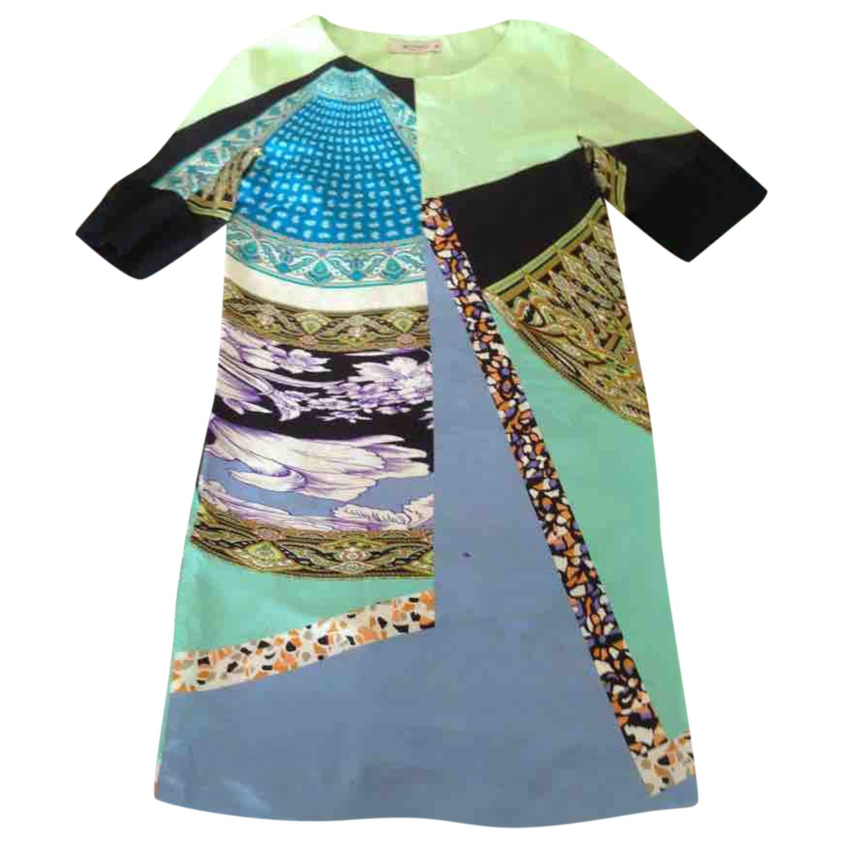 Etro \N Kleid in  Bunt Seide