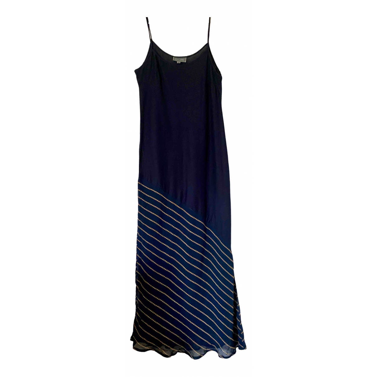 Non Signé / Unsigned \N Blue Cotton dress for Women 42 IT