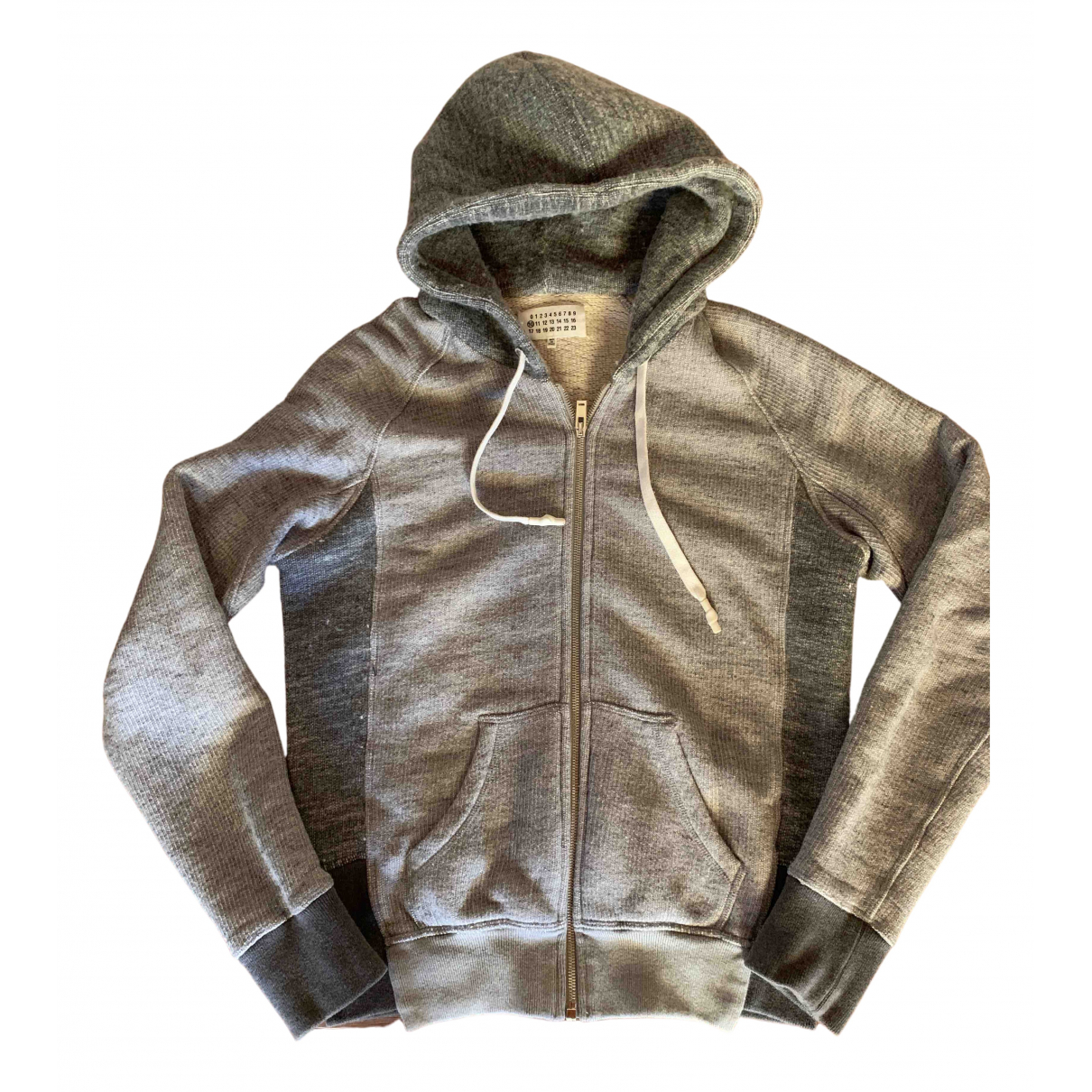 Maison Martin Margiela \N Pullover.Westen.Sweatshirts  in  Grau Wolle