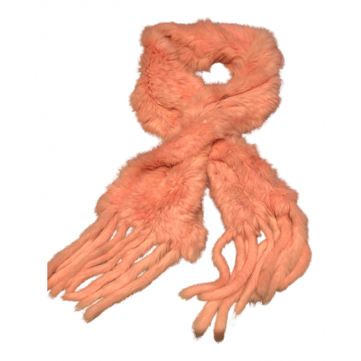 Non Signé / Unsigned N Pink Rabbit scarf for Women N