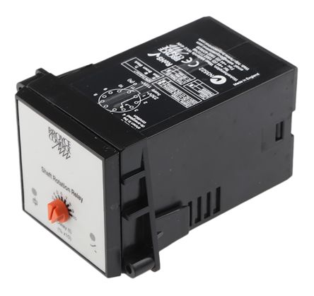 Broyce Control Current Monitoring Relay With SPDT Contacts, 115 V ac, 230 V ac Supply Voltage