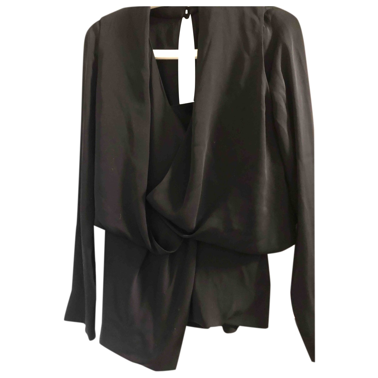 Vionnet N Black Silk  top for Women 42 FR