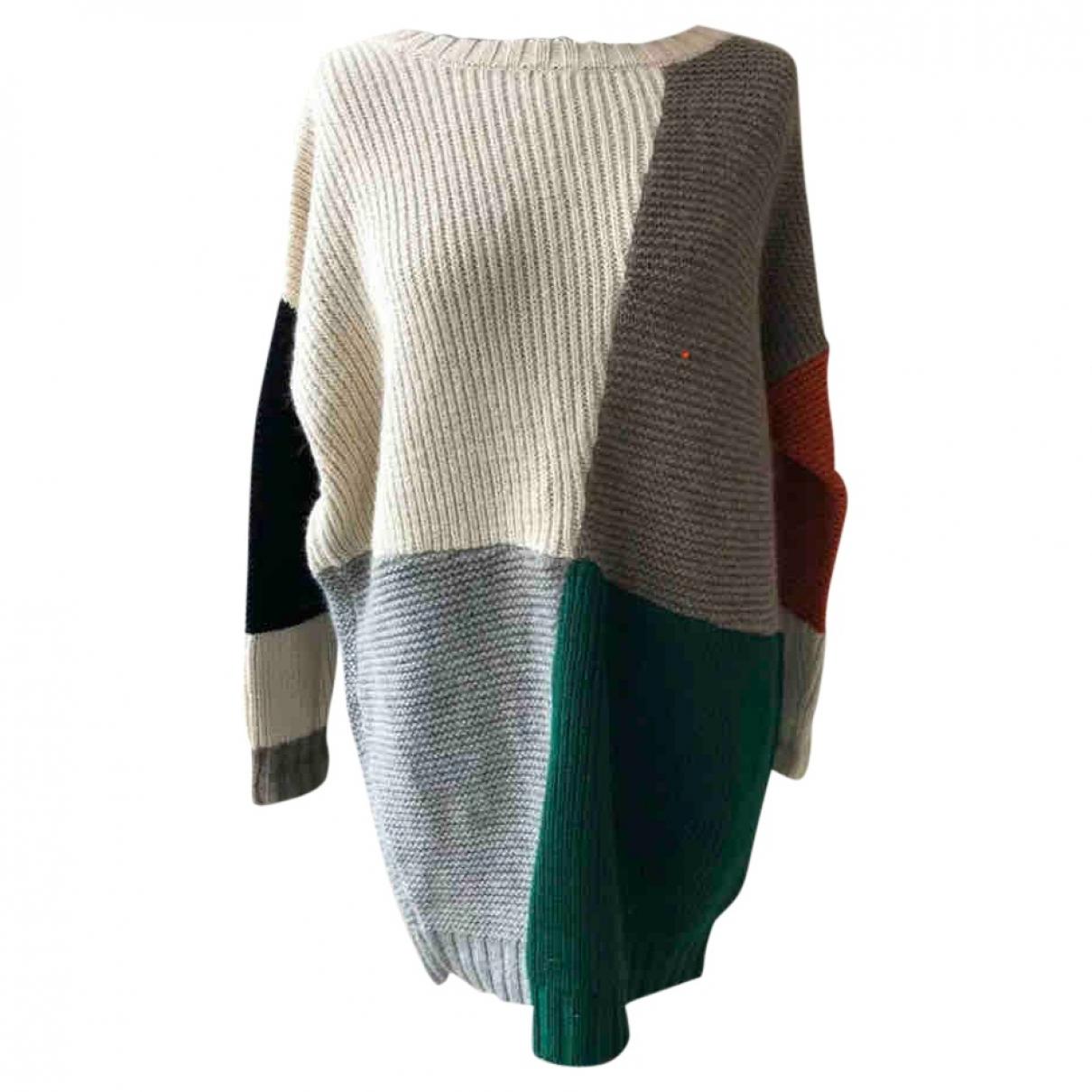 Boy. - Pull   pour femme en laine - multicolore