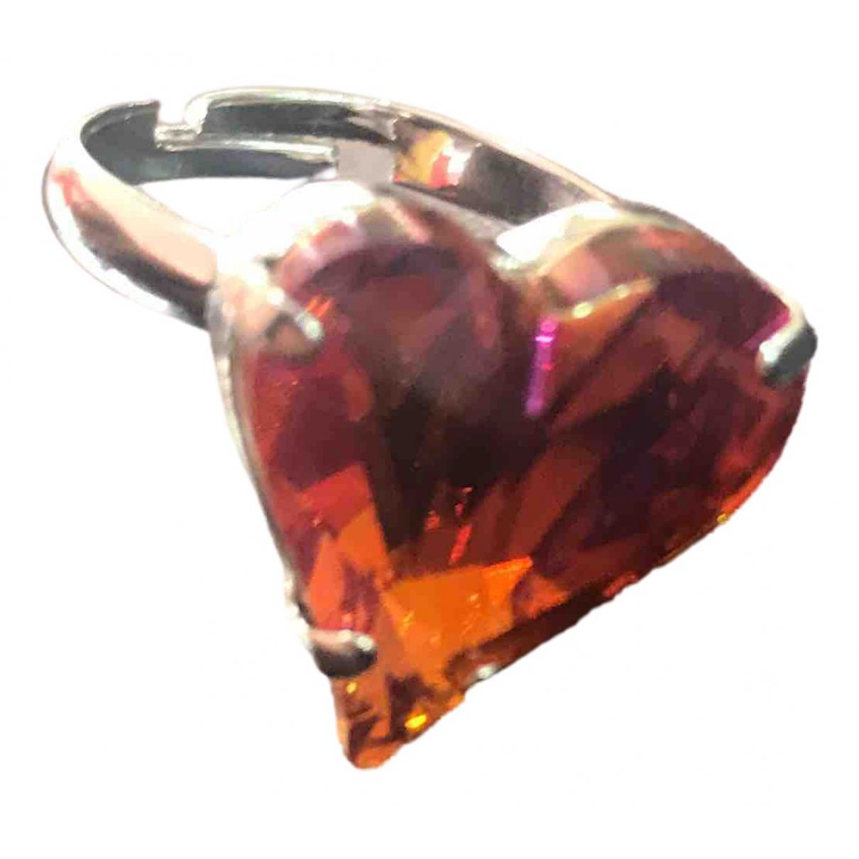 Swarovski - Bague   pour femme en cristal - orange