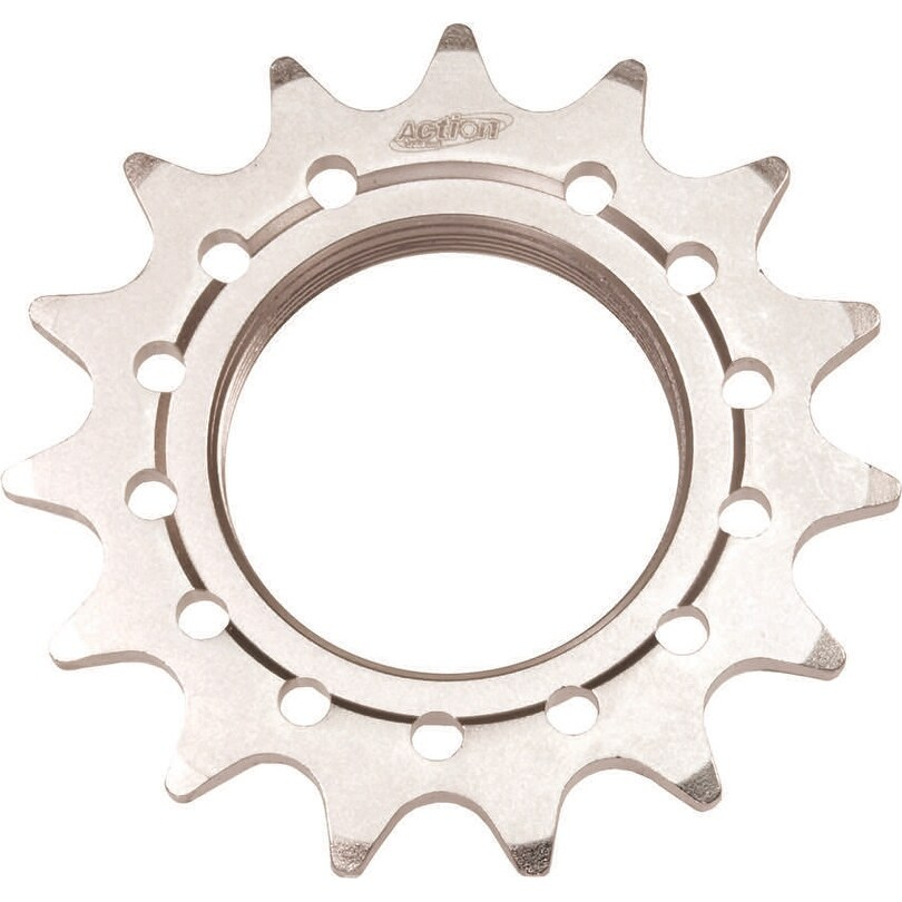 Cog track  14t 1/8 sil action (Silver)