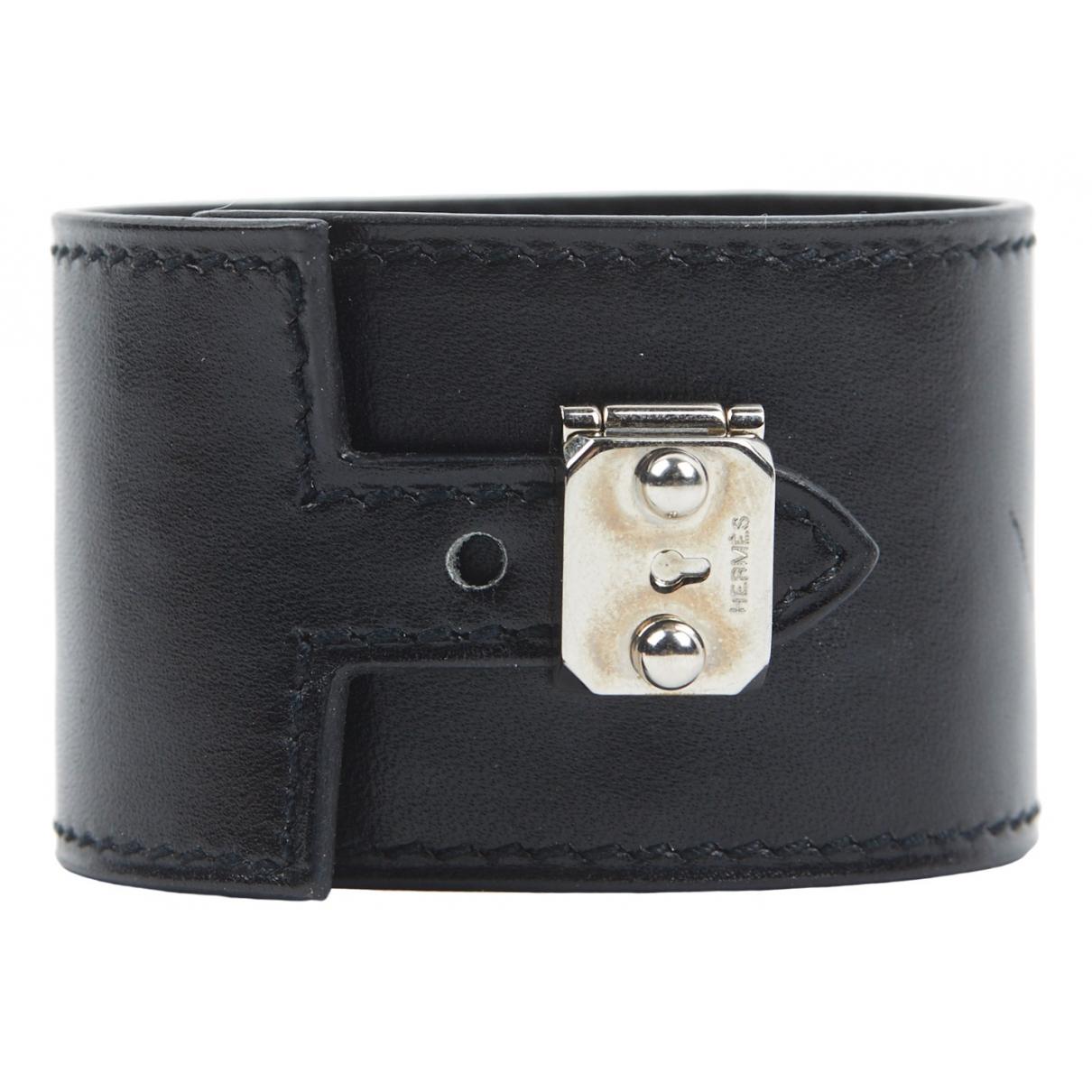 Hermes \N Armband in  Beige Leder