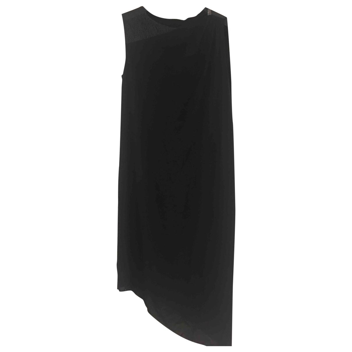 Elie Tahari \N Kleid in  Schwarz Viskose