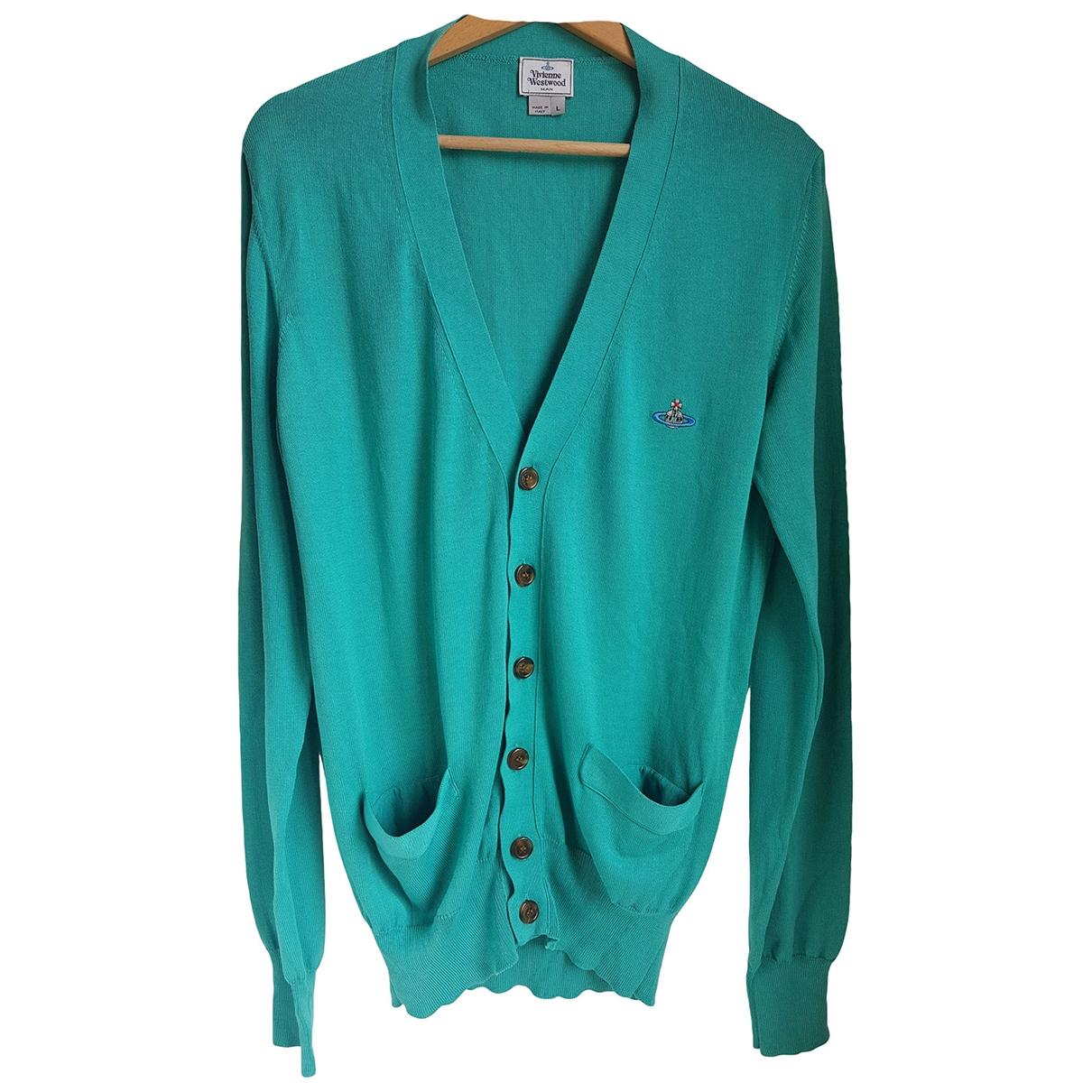 Vivienne Westwood \N Pullover.Westen.Sweatshirts  in  Gruen Baumwolle