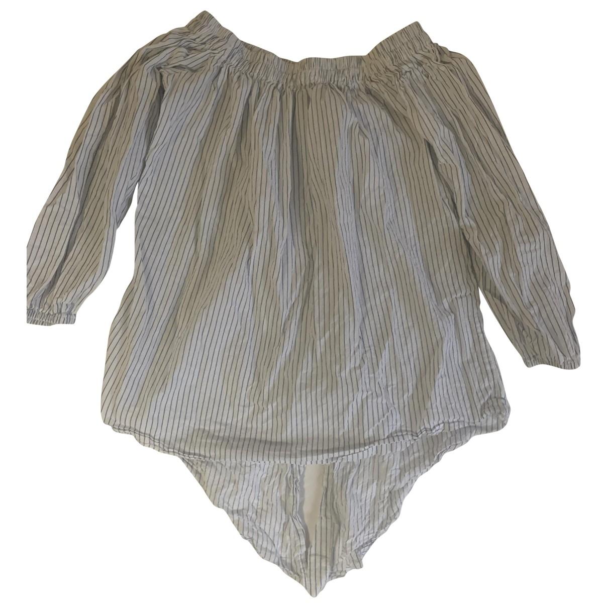 Faithfull The Brand - Top   pour femme en coton - blanc