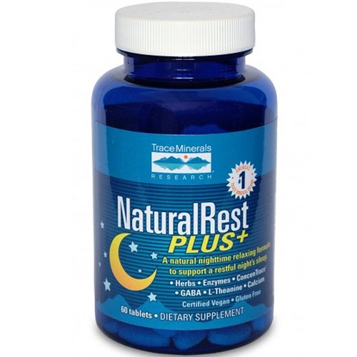NaturalRest Plus 60 Tabs by Trace Minerals