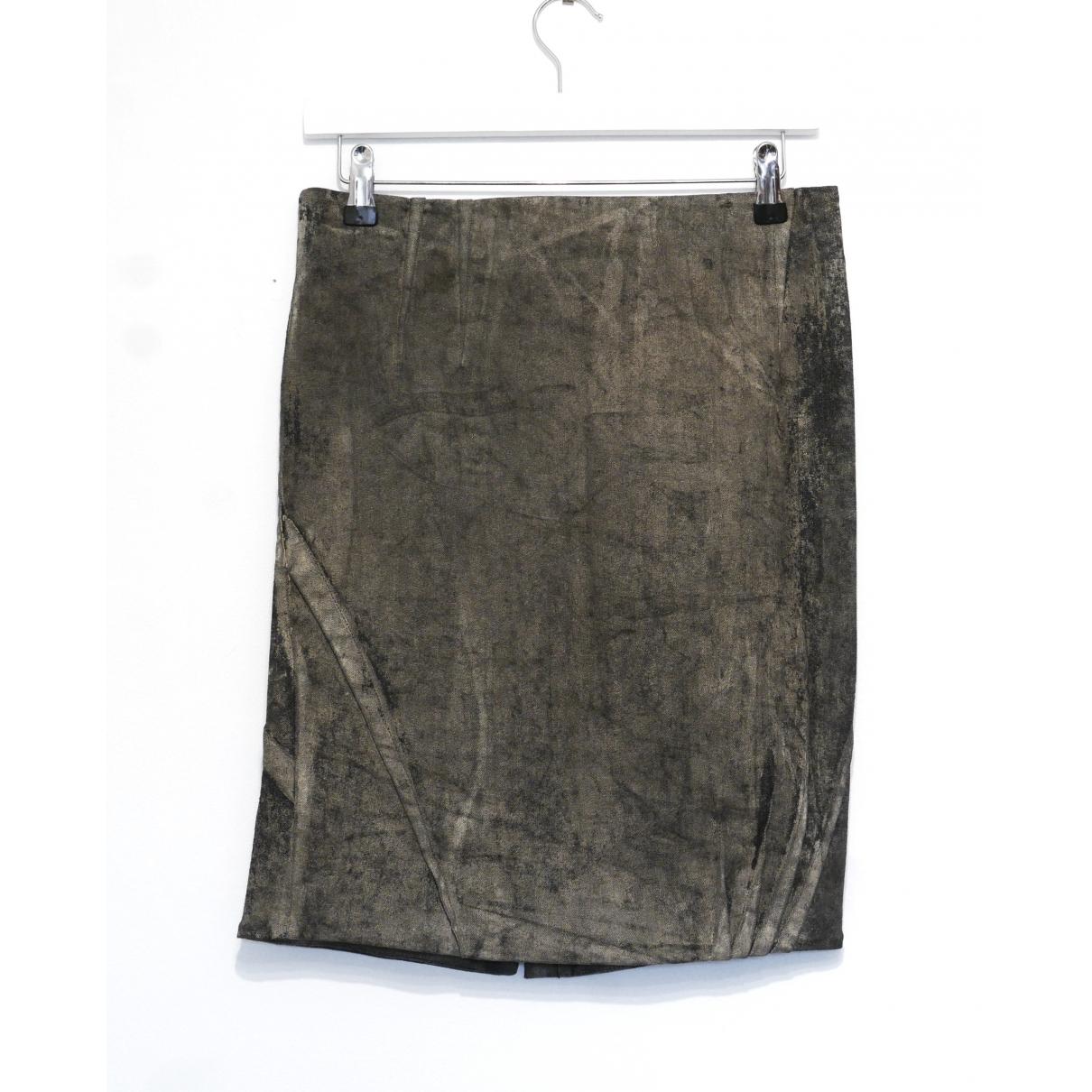 Dior - Jupe   pour femme en coton - noir