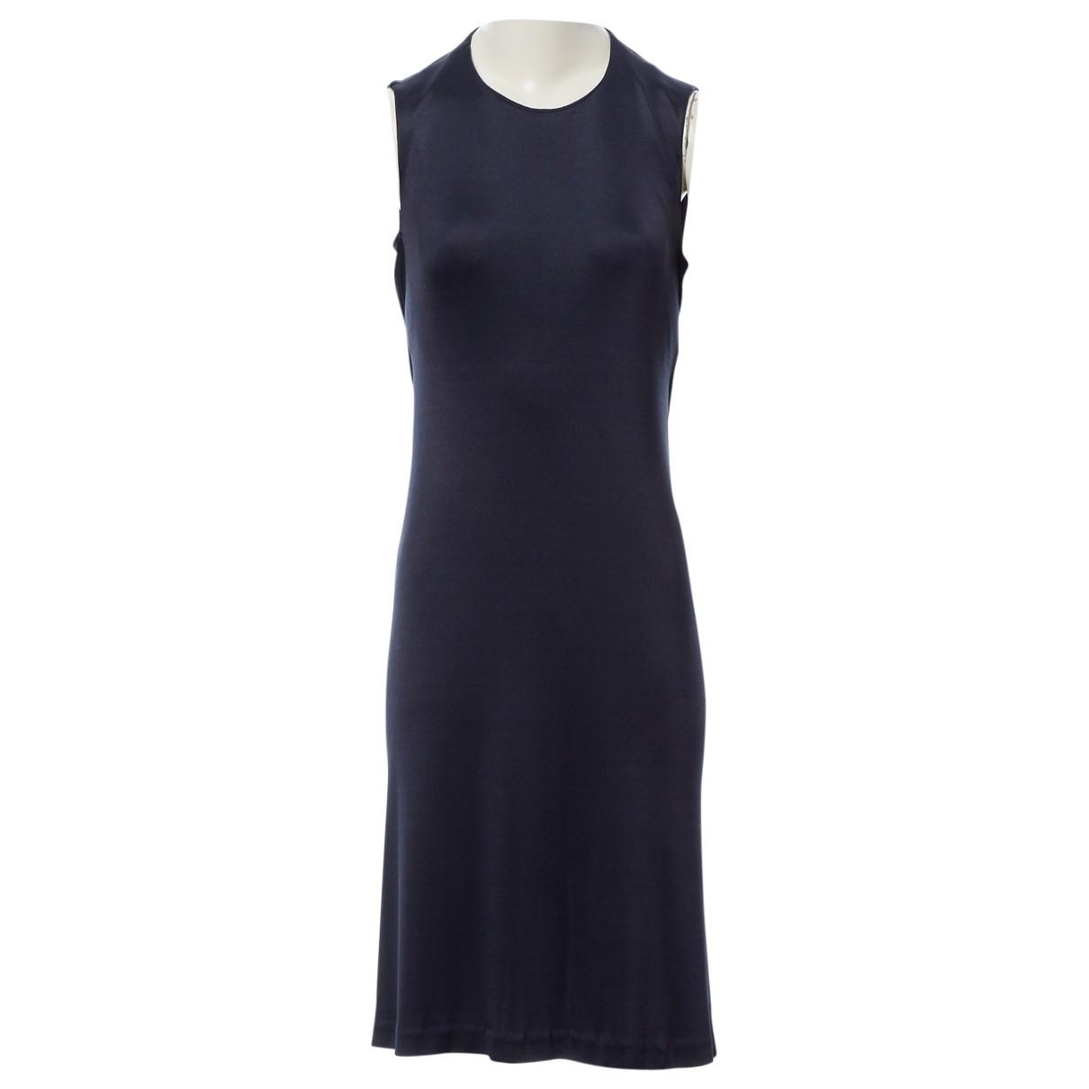Chanel \N Kleid in  Marine Synthetik