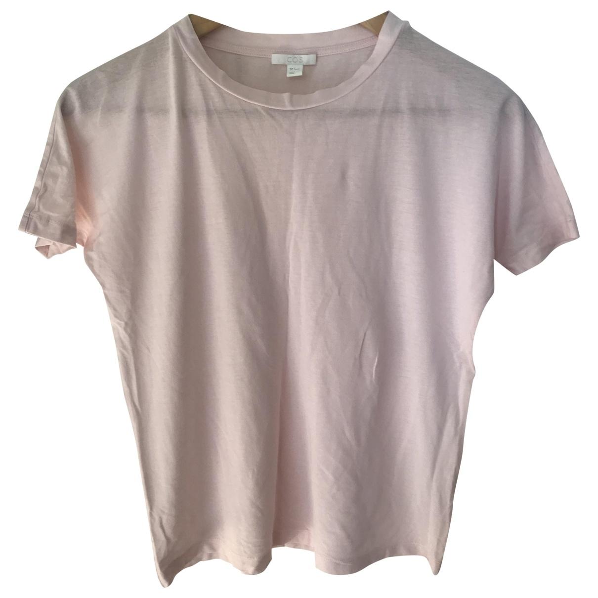 Cos - Top   pour femme en coton - rose