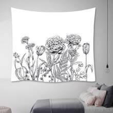 Tapisserie mit Blumen Muster