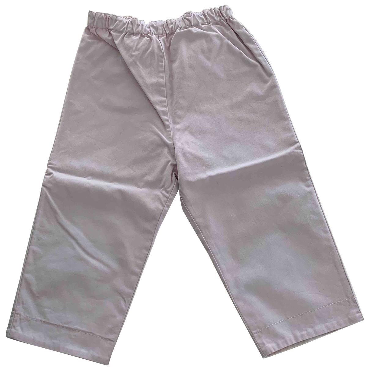 Burberry - Pantalon   pour enfant en coton - rose