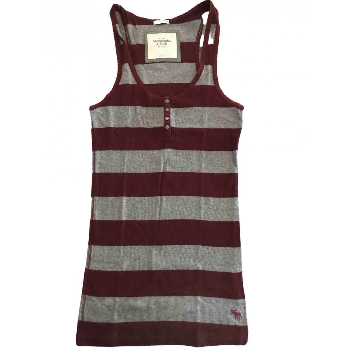 Camiseta sin mangas Abercrombie & Fitch