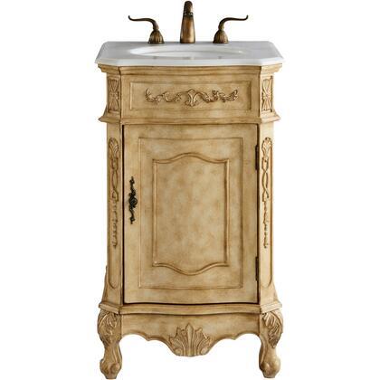 VF10121AB 21 Single Bathroom Vanity Set In Antique
