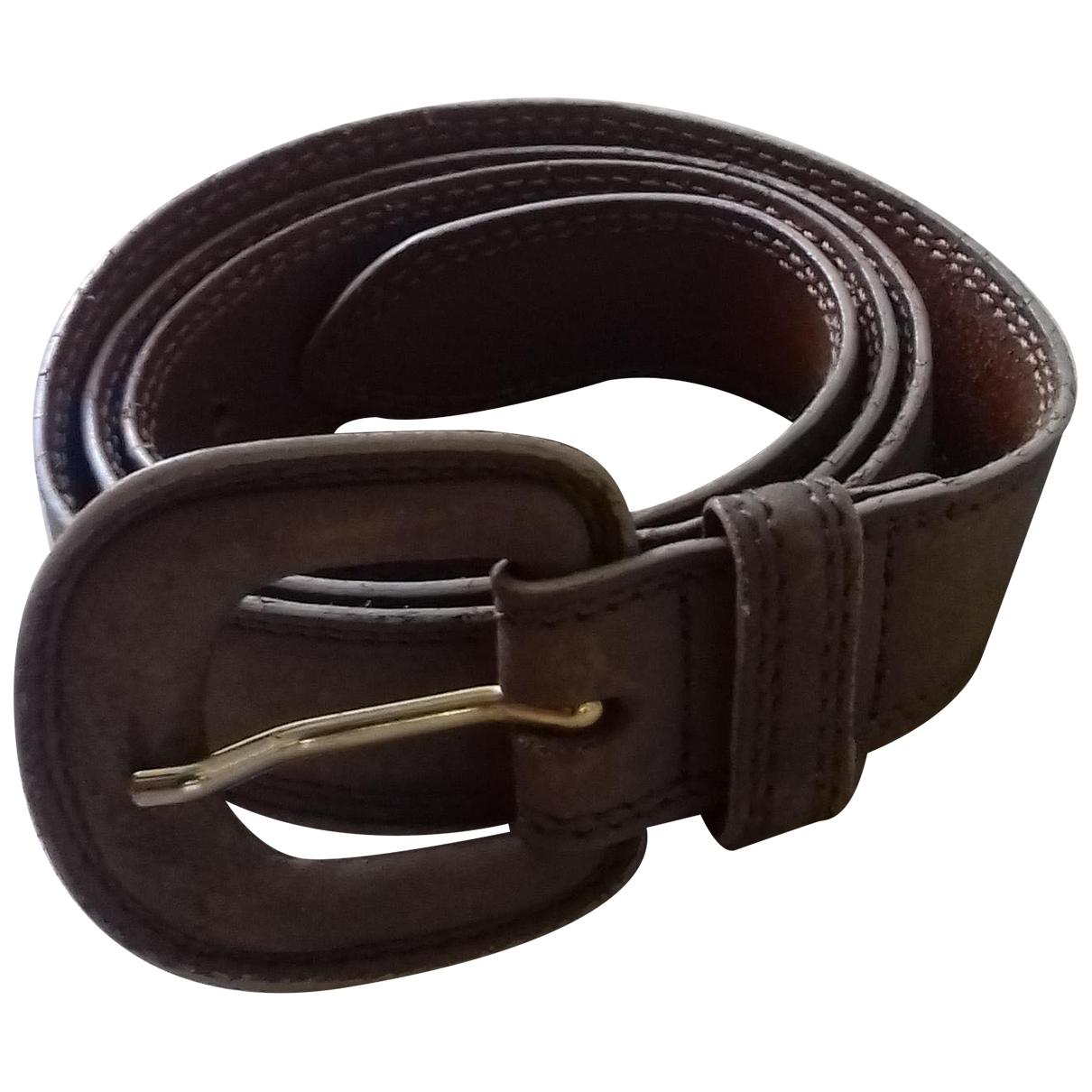 Gerard Darel \N Brown Leather belt for Women 70 cm