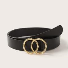 Doppel O-Ring Guertelschnalle