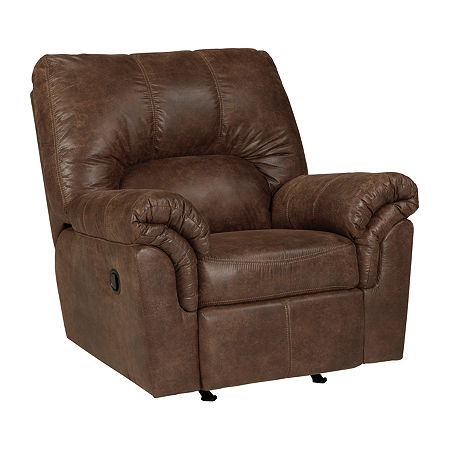 Signature Design by Ashley Blake Rocker Recliner, One Size , Brown
