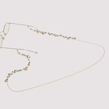 Rhinestone Decor Glasses Chain