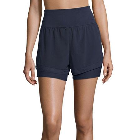 Xersion Train Womens Workout Shorts, X-large , Purple