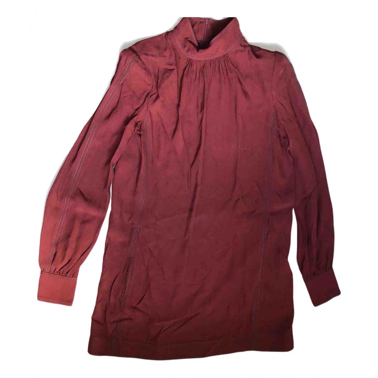 Marc Jacobs \N Kleid in  Orange Seide