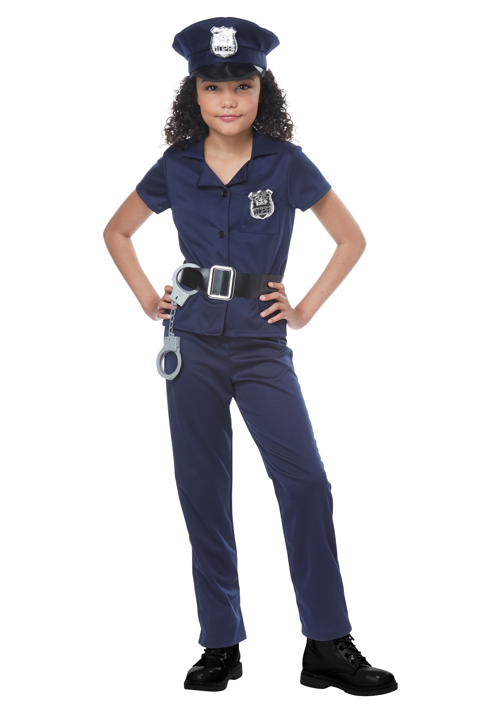 Cool Cop Costume for Girls