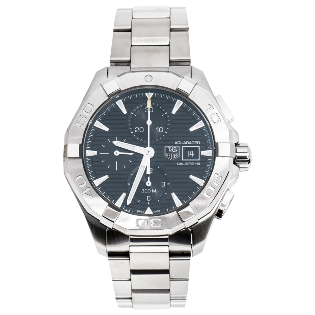 Tag Heuer Aquaracer  Silver Steel watch for Men \N